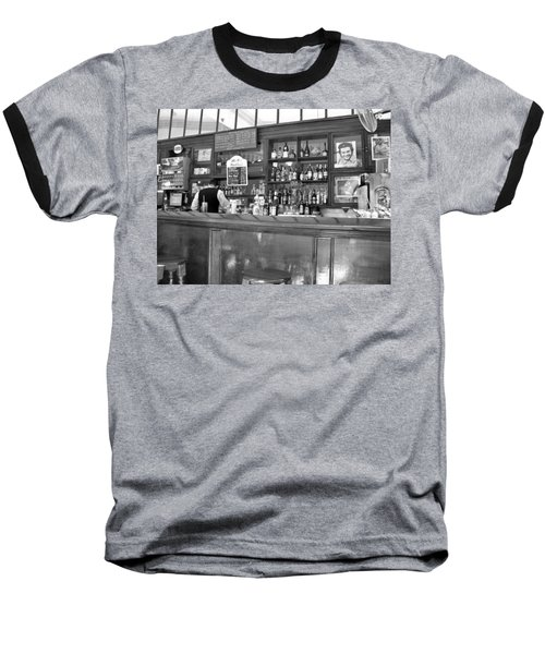 Baseball T-Shirt featuring the photograph Bar In Old Havana by Lynn Bolt