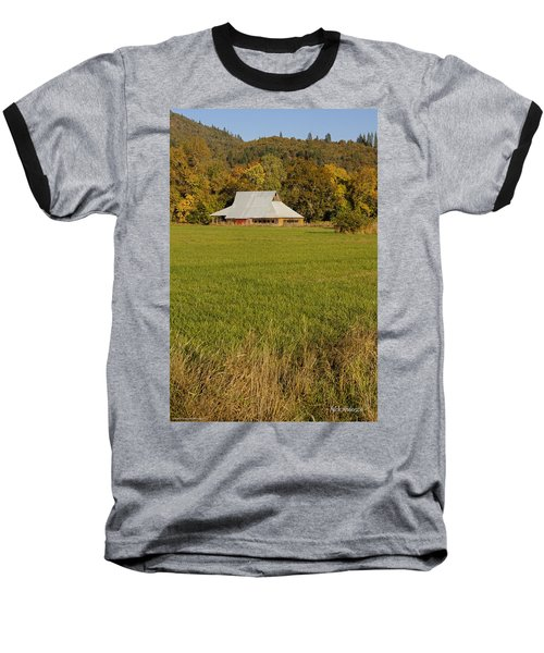 Barn Near Murphy Baseball T-Shirt by Mick Anderson