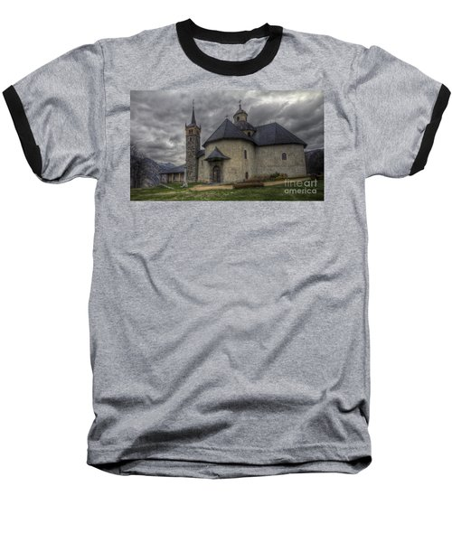 Baroque Church In Savoire France 6 Baseball T-Shirt