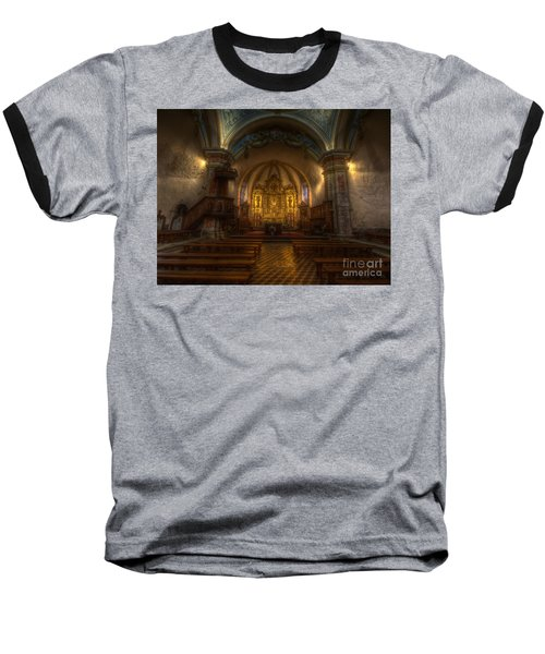 Baroque Church In Savoire France Baseball T-Shirt