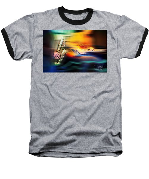 Basic Jazz Instruments Baseball T-Shirt