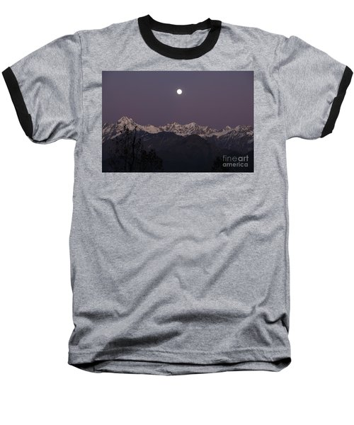 Baseball T-Shirt featuring the photograph Bathed In Moonlight by Fotosas Photography