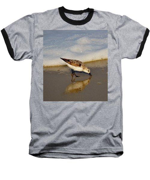 Beach Bird Baseball T-Shirt