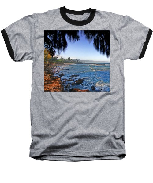 Beach On North Shore Of Oahu Baseball T-Shirt
