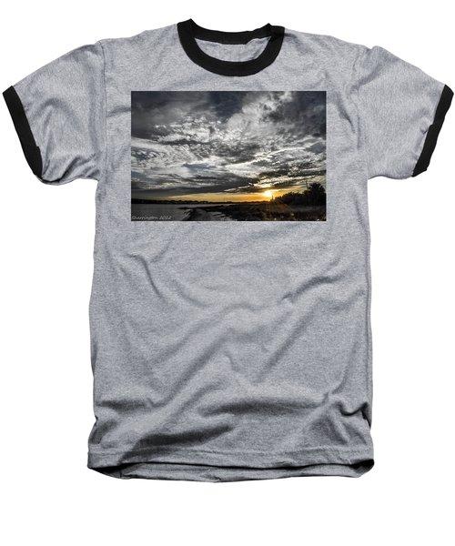 Beautiful Days End Baseball T-Shirt by Shannon Harrington