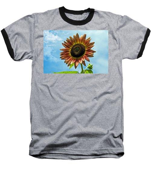 Baseball T-Shirt featuring the photograph Beautiful Sunflower by Susan Leggett