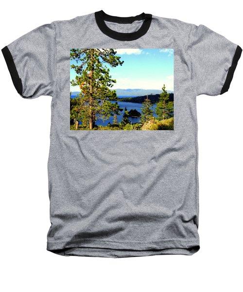 Beautiful Tahoe Baseball T-Shirt