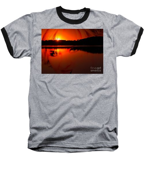 Baseball T-Shirt featuring the photograph Beauty Looks Back by Clayton Bruster