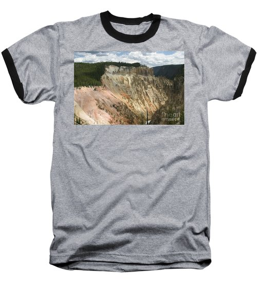 Beauty Of The Grand Canyon In Yellowstone Baseball T-Shirt by Living Color Photography Lorraine Lynch