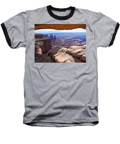 Beauty Through An Arch Baseball T-Shirt