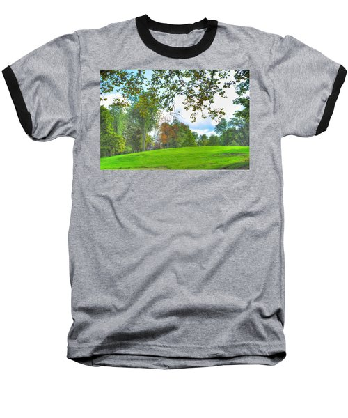 Baseball T-Shirt featuring the photograph Beginning Of Fall by Michael Frank Jr