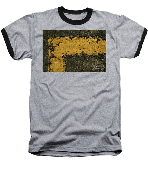Behind The Yellow Line Baseball T-Shirt