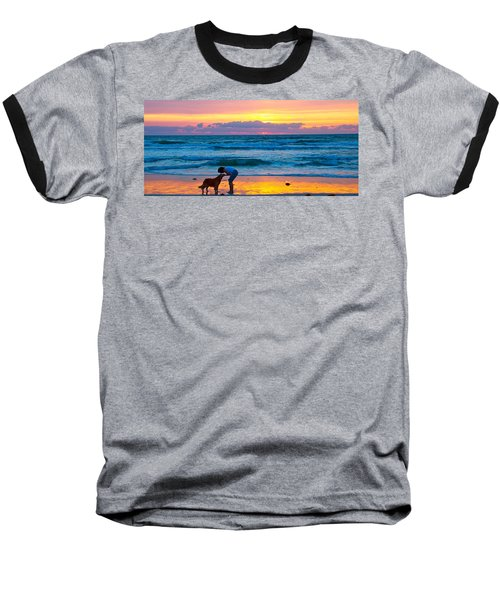 Baseball T-Shirt featuring the photograph Bella At Sunrise by Alice Gipson