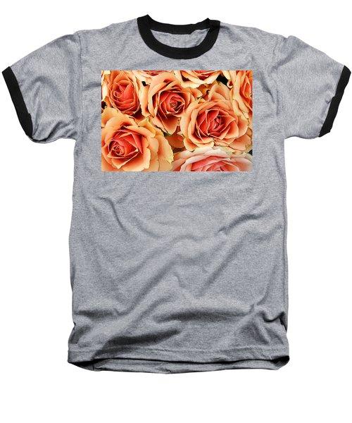 Bergen Roses Baseball T-Shirt by KG Thienemann