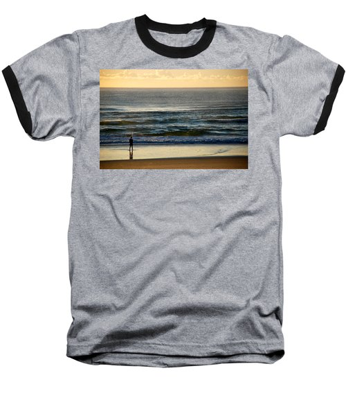 Baseball T-Shirt featuring the photograph Big Ocean  by Eric Tressler