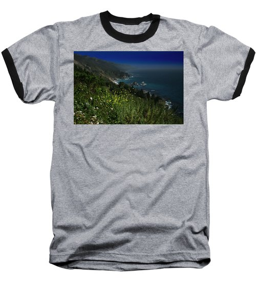 Big Sur California Baseball T-Shirt