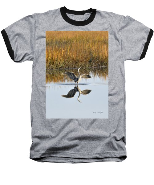 Bird Dance Baseball T-Shirt
