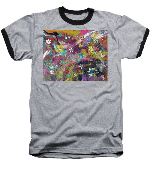 Bird Of A Feather Baseball T-Shirt by Kelly Turner