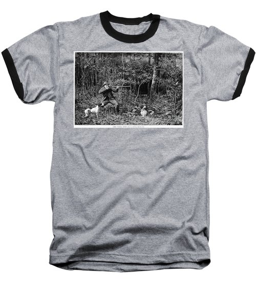 Bird Shooting, 1886 Baseball T-Shirt by Granger