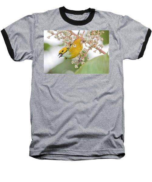 Bird With Berry Baseball T-Shirt