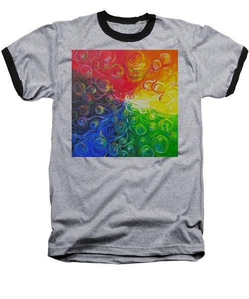 Birth Of Color Baseball T-Shirt