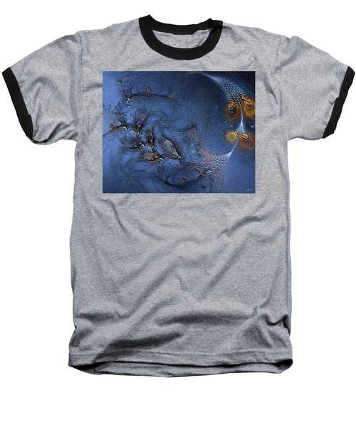 Birth Of The Cool Baseball T-Shirt by Casey Kotas