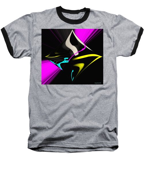 Baseball T-Shirt featuring the photograph Black Diamond by George Pedro