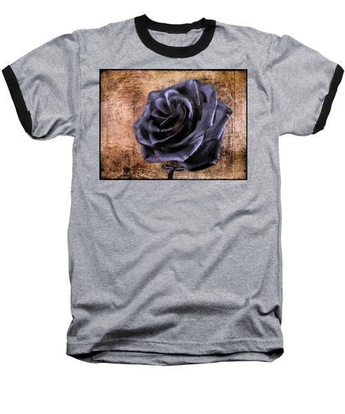 Black Rose Eternal   Baseball T-Shirt