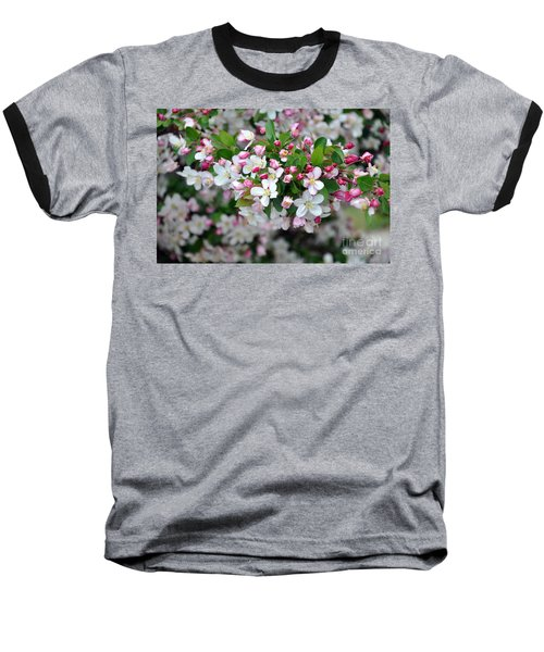 Blossoms On Blossoms Baseball T-Shirt