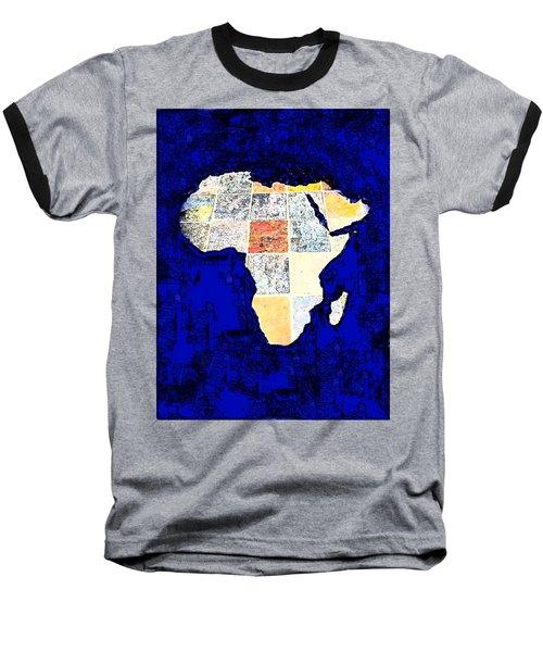 Baseball T-Shirt featuring the photograph Blue Africa by Anne Mott