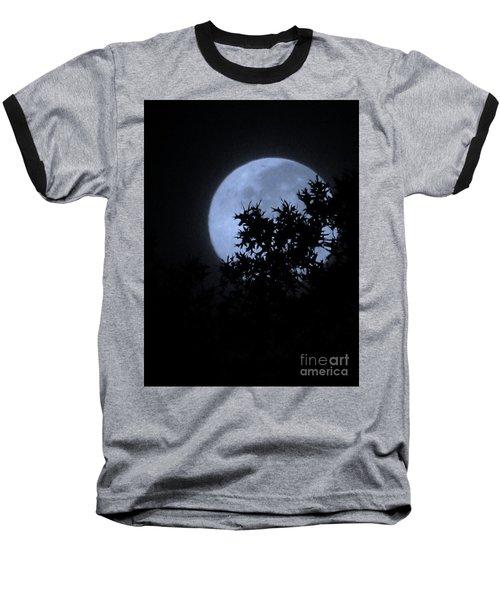 Blue August Baseball T-Shirt