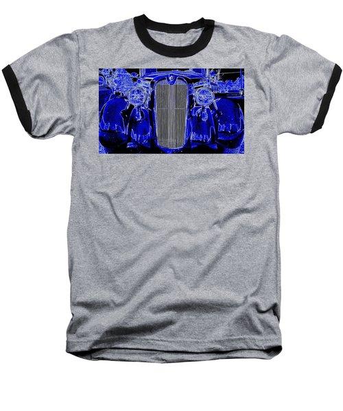 Blue Coupe Baseball T-Shirt
