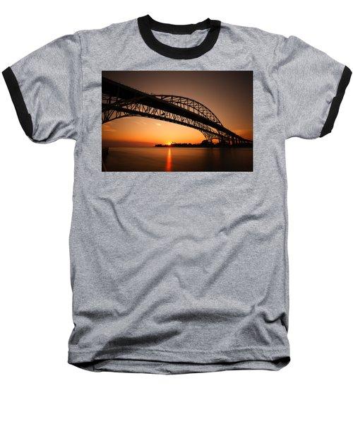 Baseball T-Shirt featuring the photograph Blue Dawn by Gordon Dean II