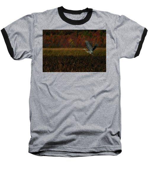 Blue Heron Mud Pond Dublin Baseball T-Shirt