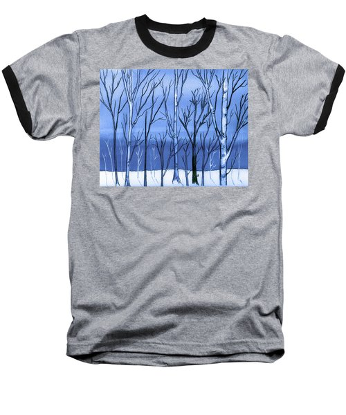 Blue Interlude Baseball T-Shirt