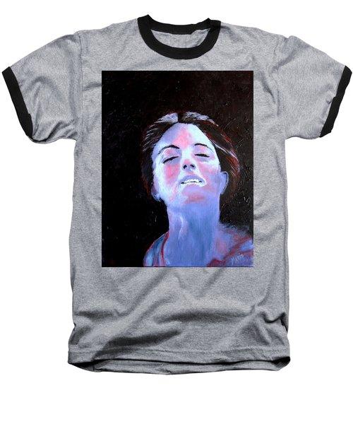 Blue Lady Baseball T-Shirt
