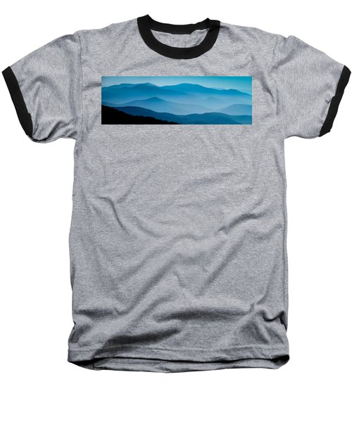 Blue Ridges Panoramic Baseball T-Shirt