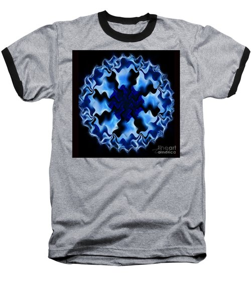 Blue Ripple Baseball T-Shirt