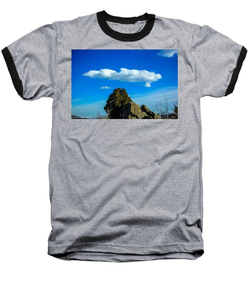 Baseball T-Shirt featuring the photograph Blue Skies by Shannon Harrington