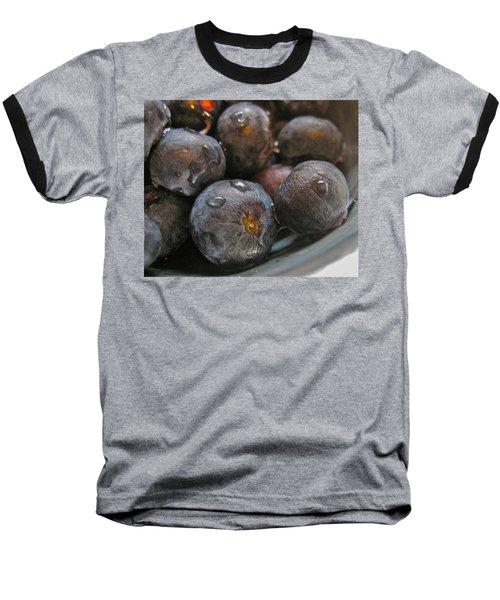 Baseball T-Shirt featuring the photograph Blueberries  by Bill Owen
