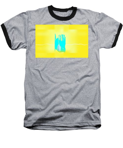 Baseball T-Shirt featuring the digital art Bluegrass by Kevin McLaughlin
