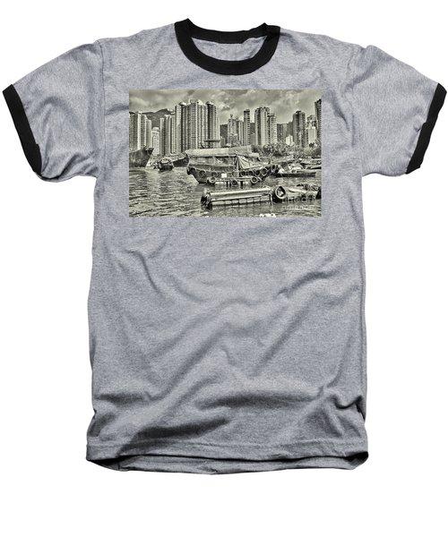 Boat Life In Hong Kong Baseball T-Shirt