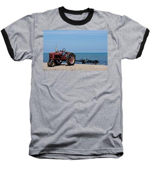 Baseball T-Shirt featuring the photograph Boat Trailer by Barbara McMahon