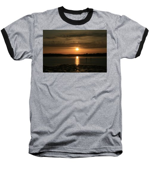 Bodega Bay Sunset II Baseball T-Shirt