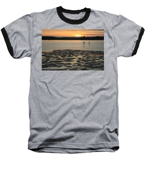 Bodega Bay Sunset Baseball T-Shirt
