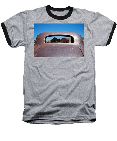 Bodie Ghost Town I - Old West Baseball T-Shirt