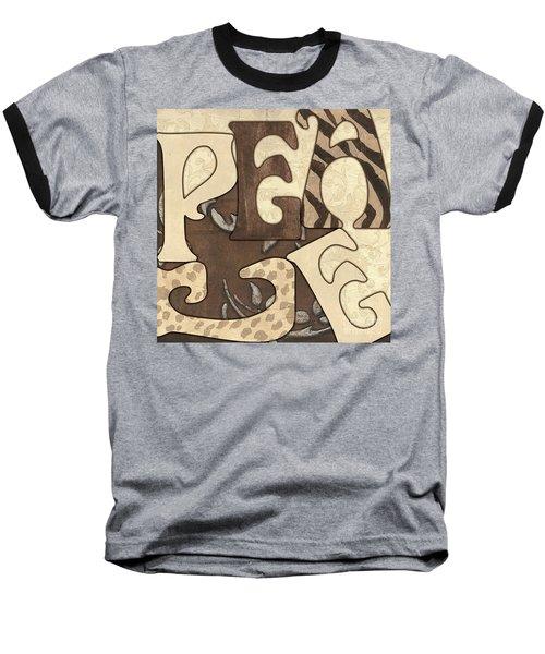 Bohemian Peace Baseball T-Shirt