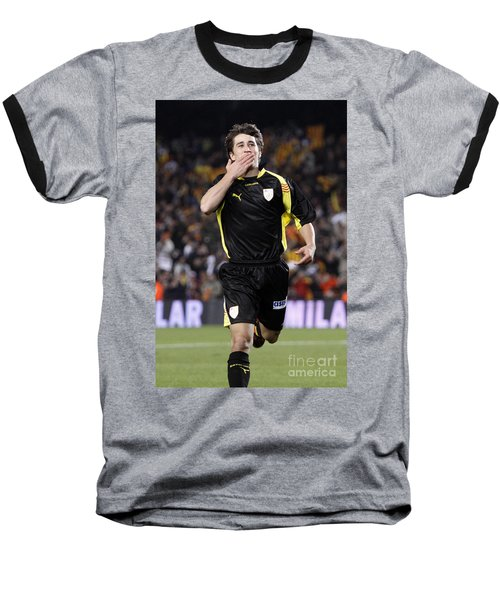 Bojan Krkic Celebrating A Goal 2 Baseball T-Shirt