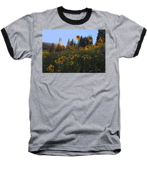 Boreas Pass Baseball T-Shirt