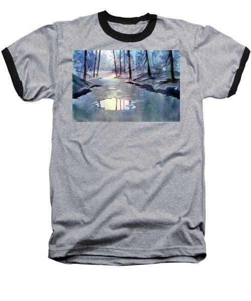 Breaking Ice Baseball T-Shirt